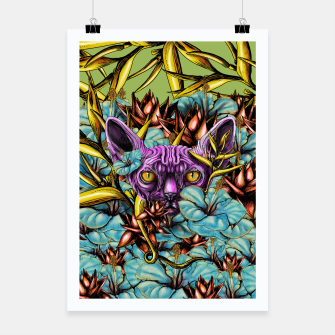Miniatur The Sphynx and the Flowers Poster, Live Heroes