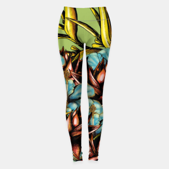 Thumbnail image of The Sphynx and the Flowers Leggings, Live Heroes