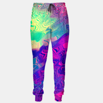Thumbnail image of Psychedelic Pattern Sweatpants, Live Heroes