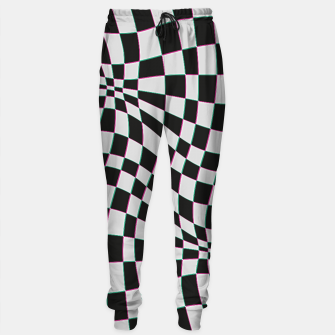 Thumbnail image of illusions d'optique Sweatpants, Live Heroes