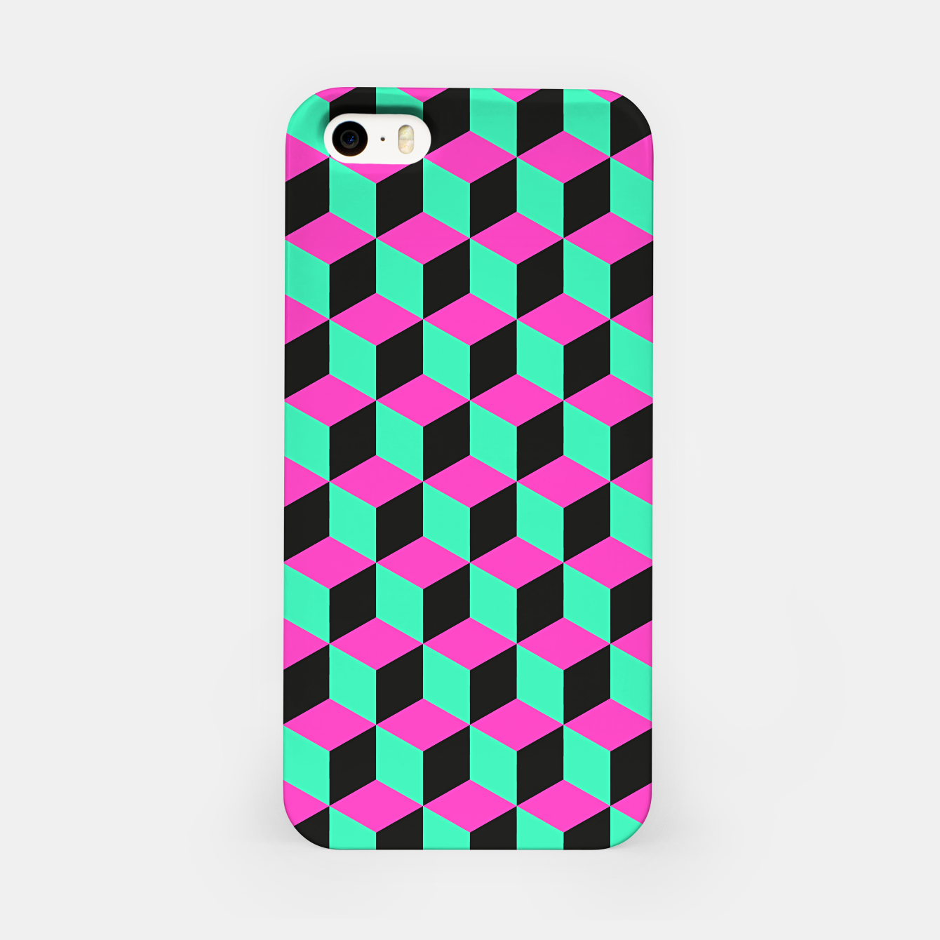 Image of illusions d'optique iPhone Case - Live Heroes