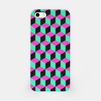 Thumbnail image of illusions d'optique iPhone Case, Live Heroes