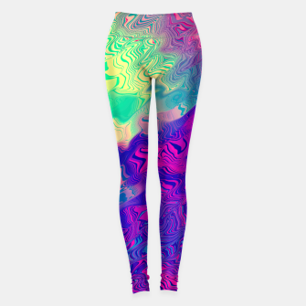 Thumbnail image of Psychedelic Pattern Leggings, Live Heroes