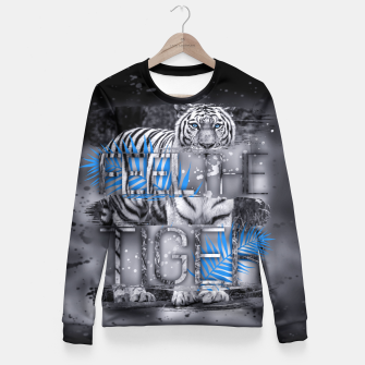 Thumbnail image of Feel the Tiger Taillierte Sweatshirt, Live Heroes