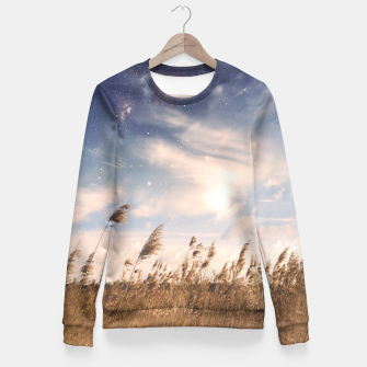 Thumbnail image of Starfield Fitted Waist Sweater, Live Heroes