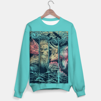Miniatur Game of Animals Sweater, Live Heroes