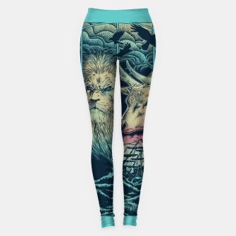 Miniatur Game of Animals Leggings, Live Heroes