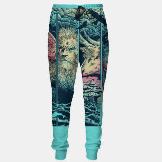 Miniatur Game of Animals Sweatpants, Live Heroes