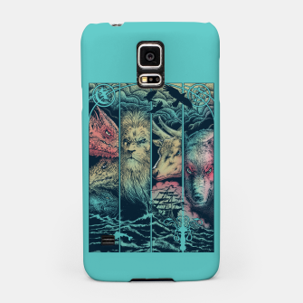 Miniatur Game of Animals Samsung Case, Live Heroes