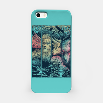 Miniatur Game of Animals iPhone Case, Live Heroes
