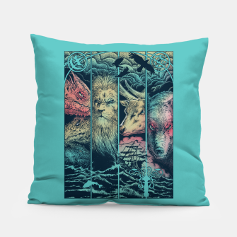Miniatur Game of Animals Pillow, Live Heroes