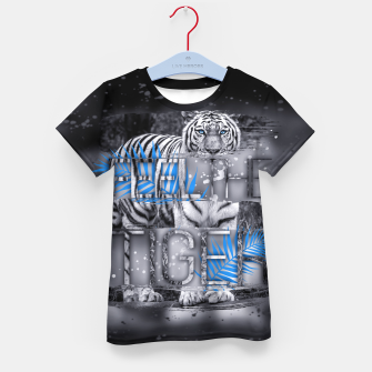 Thumbnail image of Feel the Tiger T-Shirt für Kinder, Live Heroes