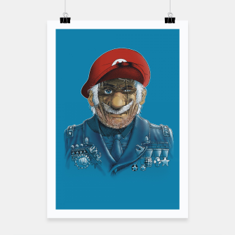 Miniaturka General Mario Poster, Live Heroes