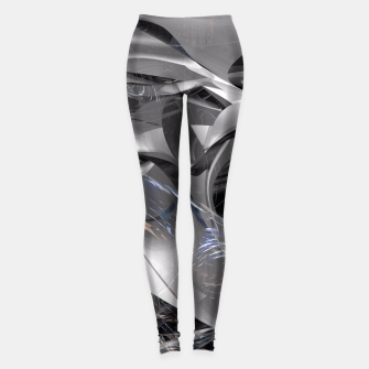 Thumbnail image of modernfluidity Leggings, Live Heroes