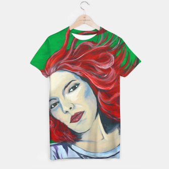 Thumbnail image of Curly T-shirt, Live Heroes