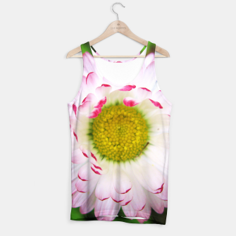 Miniatur Pink Daisy Tank Top, Live Heroes