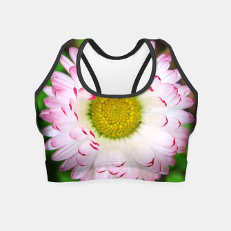 Miniatur Pink Daisy Crop Top, Live Heroes