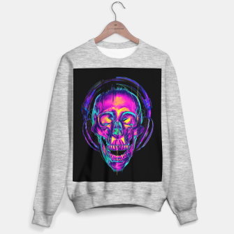 Thumbnail image of Trippy Skull Sweater regular, Live Heroes