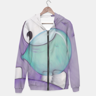 Miniatur Bubble Monster Hoodie, Live Heroes