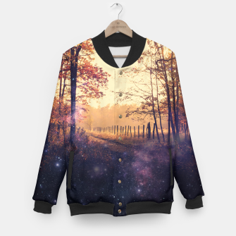 Miniatur The Wind in the Trees Baseball Jacket, Live Heroes