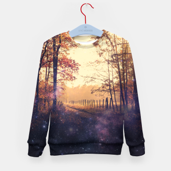 Thumbnail image of The Wind in the Trees Kid's Sweater, Live Heroes
