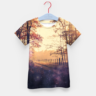 Thumbnail image of The Wind in the Trees Kid's T-shirt, Live Heroes