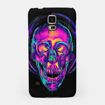 Thumbnail image of Trippy Skull Samsung Case, Live Heroes