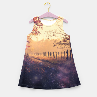 Thumbnail image of The Wind in the Trees Girl's Summer Dress, Live Heroes