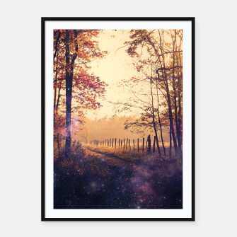 Thumbnail image of The Wind in the Trees Framed poster, Live Heroes