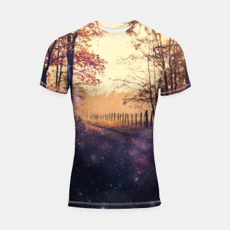 Thumbnail image of The Wind in the Trees Shortsleeve Rashguard, Live Heroes