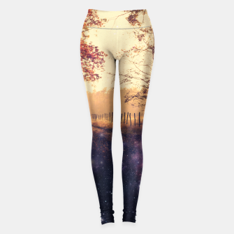 Thumbnail image of The Wind in the Trees Leggings, Live Heroes
