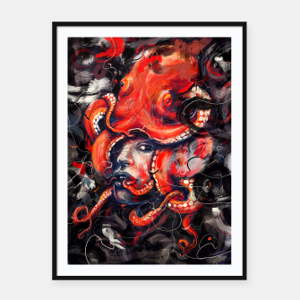 Thumbnail image of Empress Octo Framed poster, Live Heroes