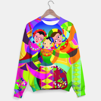 Thumbnail image of traditional batavia dance  Sweater, Live Heroes