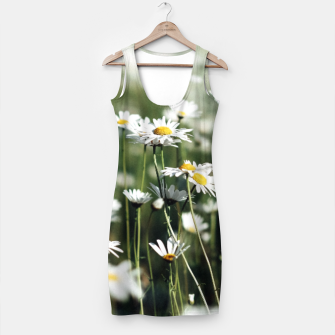 Thumbnail image of White Summer Daisies Flowers Simple Dress, Live Heroes