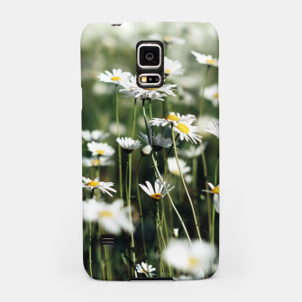 Thumbnail image of White Summer Daisies Flowers Samsung Case, Live Heroes