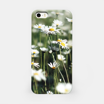 Thumbnail image of White Summer Daisies Flowers iPhone Case, Live Heroes