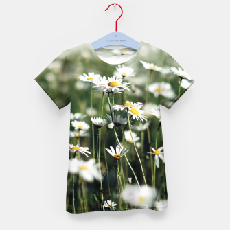 Thumbnail image of White Summer Daisies Flowers Kid's T-shirt, Live Heroes