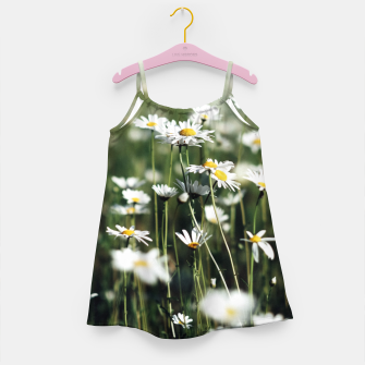 Thumbnail image of White Summer Daisies Flowers Girl's Dress, Live Heroes