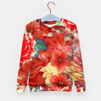 Thumbnail image of flowers red Bluza dziecięca, Live Heroes