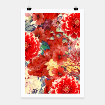 Thumbnail image of flowers red Plakat, Live Heroes