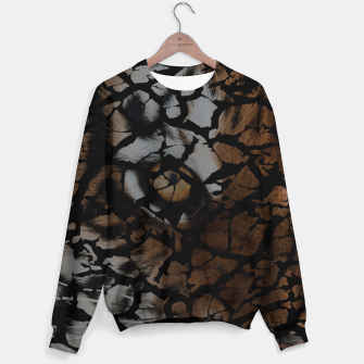 Miniatur Earth Texture Tiger Shades Sweater, Live Heroes
