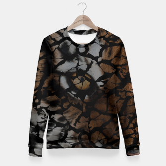 Thumbnail image of Earth Texture Tiger Shades Fitted Waist Sweater, Live Heroes