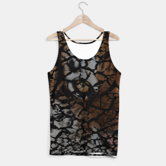 Miniatur Earth Texture Tiger Shades Tank Top, Live Heroes