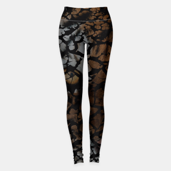 Thumbnail image of Earth Texture Tiger Shades Leggings, Live Heroes