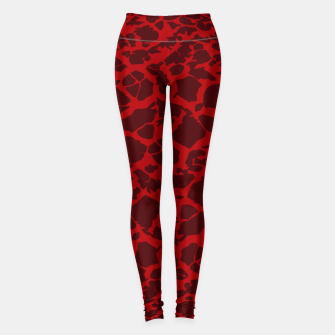 Thumbnail image of Red Texture Leggings, Live Heroes