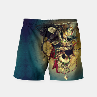 Thumbnail image of Lost In The Sea Swim Shorts, Live Heroes