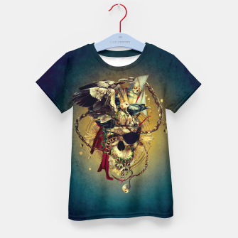 Thumbnail image of Lost In The Sea Kid's T-shirt, Live Heroes