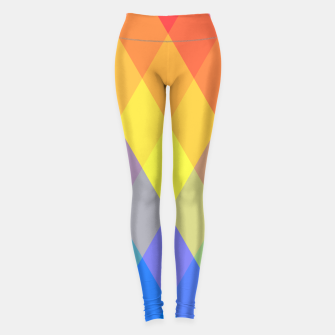 Thumbnail image of Tessellation of Dusk & Dawn Sport Leggings, Live Heroes