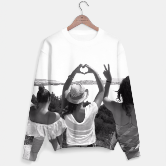 Thumbnail image of modern Sweater, Live Heroes
