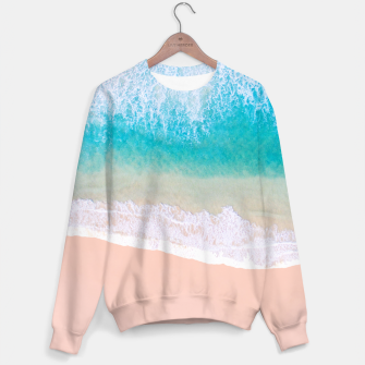 Thumbnail image of Ocean in Millennial Pink Sweater, Live Heroes
